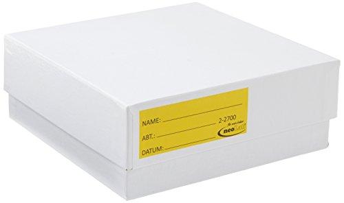Neolab 2-2700 opbergdoos van karton, 50 mm hoog, wit