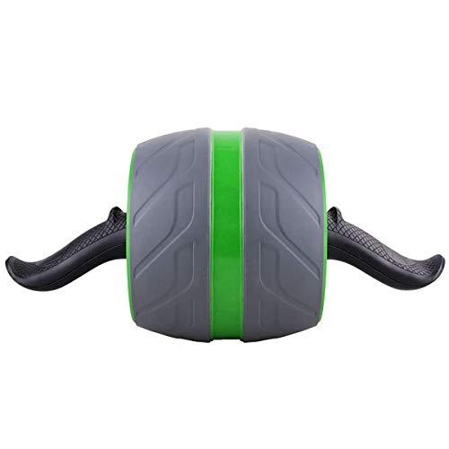 BYBYC Ab Roller Laufrad Fitness, Bauchmuskeltrainer, Für Die Arme Zurück Bauchkern Trainer Body Shape Trainings Supplies,Grün