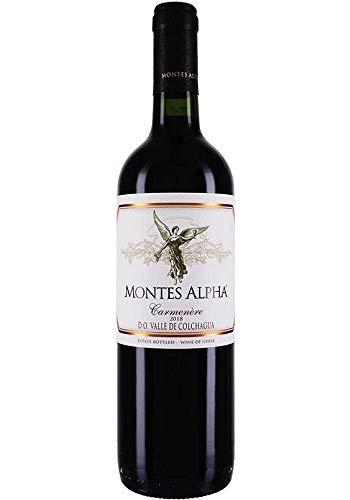 Montes, Montes Alpha Colchagua Carmenère, VINO TINTO (caja de 6x75cl) Chile/Colchagua Valle