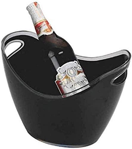 Cubo de hielo grande, refrigeradores de botella de vino Conjunto de barras...