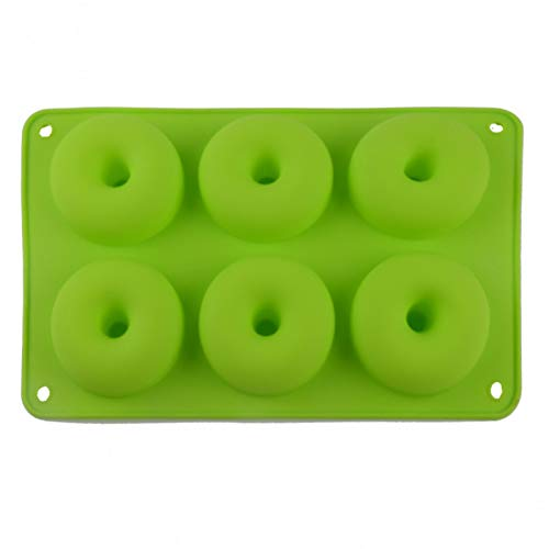 JJCDKL Silikon Donut Form Erdbeerkuchen Form Antihaft Candy Donut Backform Backform Werkzeug