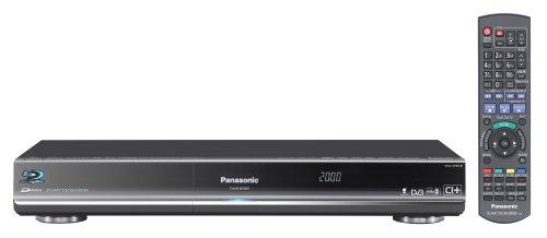 Panasonic DMR-BS885EGK Blu-ray Rekorder mit 500 GB Festplatte (Blu-ray Brenner, DVB-S/S2 Tuner, HDMI, Upscaler 1080p) schwarz