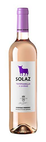 Osborne Solaz Vino Rosado Tempranillo & Shiraz - 6 botellas de 75 cl- Total: 450 cl