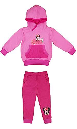 Kleines Kleid Minnie Mouse Sportanzugset in Größe 80 86 92 98 104 110 (Modell 1, Numeric_92)