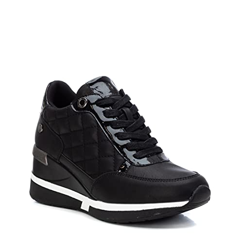 XTI 43236, Zapatillas Mujer, Negro, 37 EU