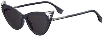 Fendi Iridia 52 mm Cat Eye Women's Sunglasses