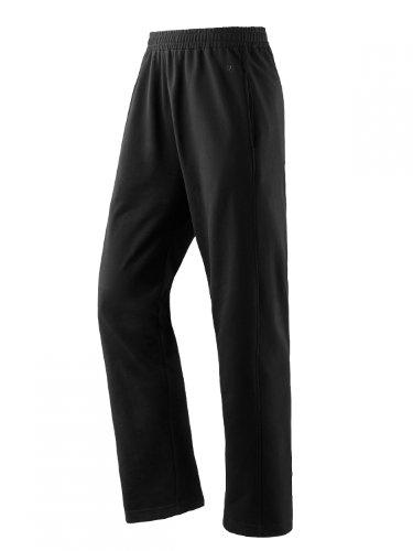 Joy Sportswear Trainigshose Marcus Herren | Sporthose | atmungsaktive Freizeithose & Funktionshose | Bewegungsfreiheit Komfortbund mit Innenkordel | Cotton Comfort Kurzgröße, 28, Black
