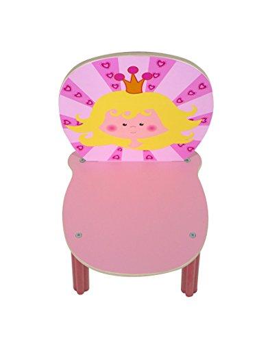 Rudolphs Schatzkiste La Chaise d'arbitre, Princesse 300 x 280 x 550 président la Chaise des Enfants en Bois de Chaise
