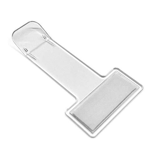 SUMEX PTH1000 Pinza Transparente de Parabrisas Coche, Soporte Tique Parquing y Tarjeta Aparcamiento, Pequeño