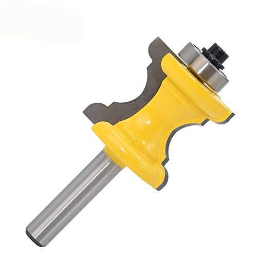 XBF-TOOL, 1PC 8 mm cóncavo Convexo Radio de Fresas de Cuchillo Columna línea de moldeo Router bit Tenon Cortador for Trabajar la Madera (tamaño : 1PC 8mm)