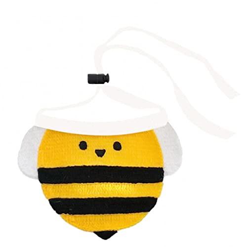 CIJK 10pcLovely Dog Collar Bee Saliva Toalla Babero Flor Pañuelo De Punto Suministros para Mascotas Linda Toalla De Encaje Bufanda Suave (Color : B)