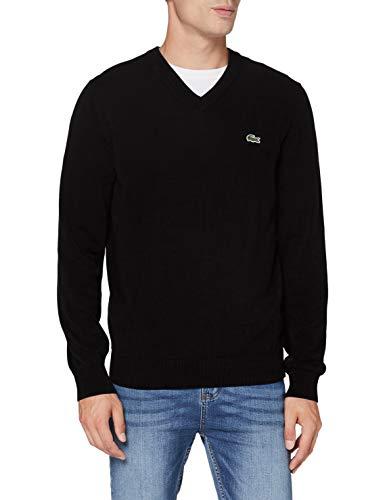 Lacoste Herren AH1951 Pullover, Black, L