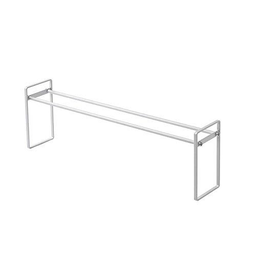 ZGQA-GQA Sala de Acero Inoxidable Zapatero Sistema de Interior del Deslizador del Organizador del almacenaje (Color: Plata, tamaño: 50 * 9 * 16 cm)