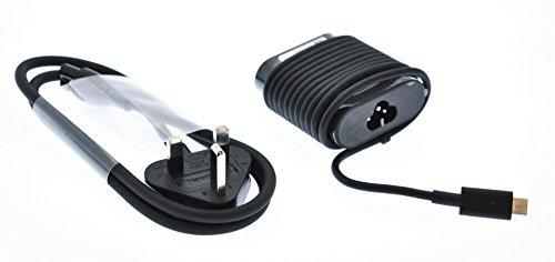 Dell La latitud 7275, latitud 11 (5175), Venue 10 Pro (5056), Venue 8 Pro (5855), xps 12 (9250) c USB-Cargador del Adaptador 30w Power + Cable