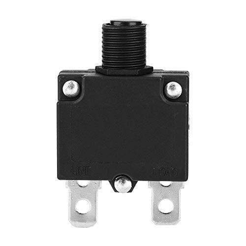 Interruptor de interruptor actual, componente de circuito duradero para circuito de CA y CC (20A)
