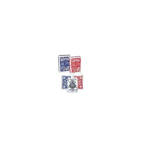 Mazzo TALLY-HO Fan (US Playing Card Company) - Dorso Rosso