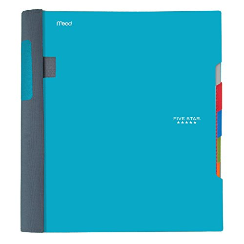 "Five Star Advance Spiral Notebook, 5 Subject, College Ruled Paper, 200 Sheets, 11"" x 8-1/2, Color Selected For You (06326) Photo #3"