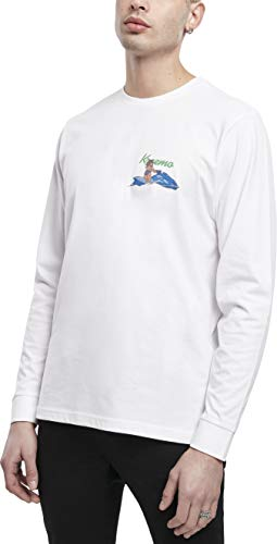 Mister Tee Bad Gyal Longsleeve Suéter, Blanco, XS para Hombre