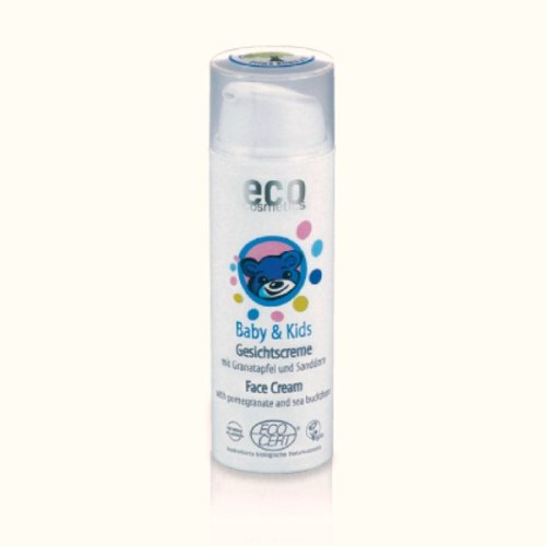 eco cosmetics Bio Baby & Kids Gesichtscreme (1 x 50 ml)