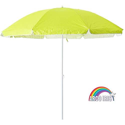 Arcoiris - Ombrellone da spiaggia in alluminio, protezione solare UPF+50