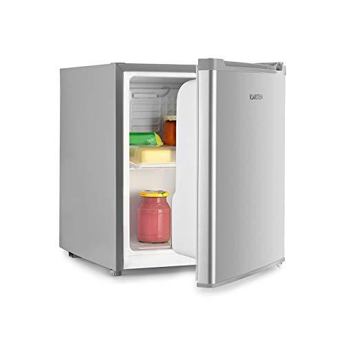 Klarstein Scooby mininevera - sistema EcoExcellence, eficiencia energética de clase A++, 40 litros de capacidad, temperatura regulable, baldas extraíbles, botellas de hasta 2 l, 41 dB, blanco