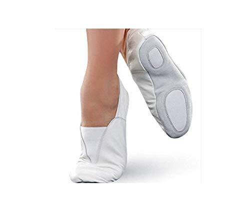 MEDUSA ENT LLC Rubber Sole Gymnastic Shoes Goat Leather Gymnastics Shoe USA (Kids 2) 21cm