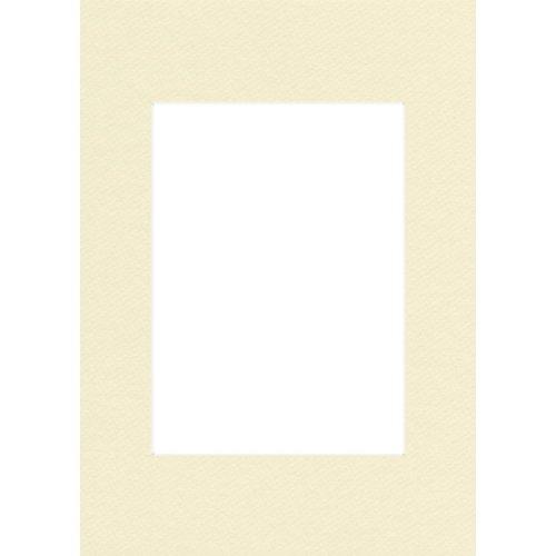 Hama Premium Passepartout 40 x 50 cm (für Bilder im Format 30 x 40) elfenbein