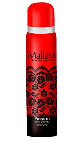 3x MALIZIA Donna Passion deo 100 ml seduction Parfüm Deodorant Spray Frau