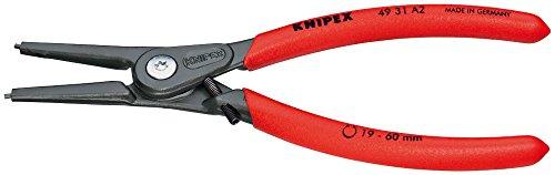 クニペックス KNIPEX 軸用精密スナップリングプライヤー 直4931-A2 ストレート 19-60mm