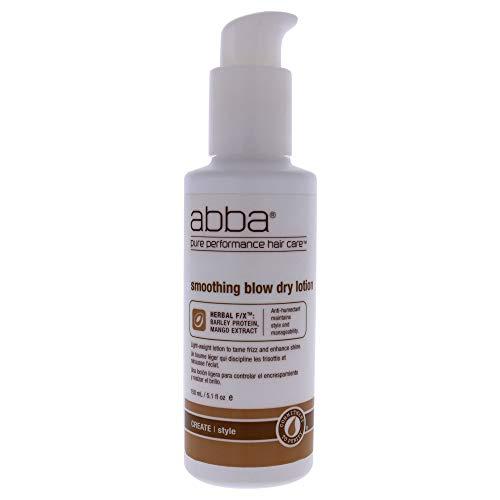 ABBA - Smoothing Blow Dry Lotion - Herbal Rx - Protéine D'orge et Extrait de Mangue - Maintient le Style et la Maniabilité - Anti-Humectant - Lisse le