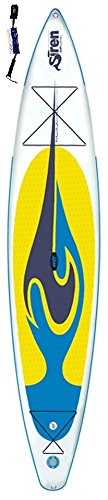 Siren Ray 12'6PFT SUP, gonfiabile ISUP incluso supwave-Coil-Leash Stand Up Paddle Board 2017