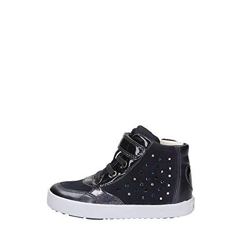 Geox Baby Mädchen B Kilwi Girl B Sneaker, Blau (Navy C4002), 23 EU