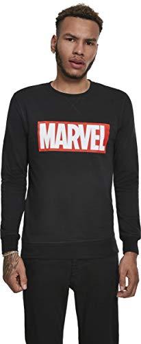 Marvel trui met logo van de uitgevers, met logo