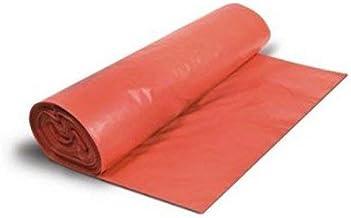 Pack 10 rollos de bolsas de basura comunidad rojas 85x105 cm ...