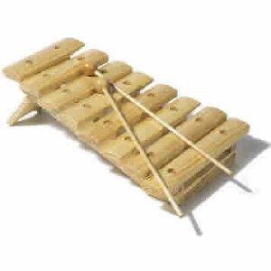 Goki Holz-Xylophon 8 Töne (C-C)