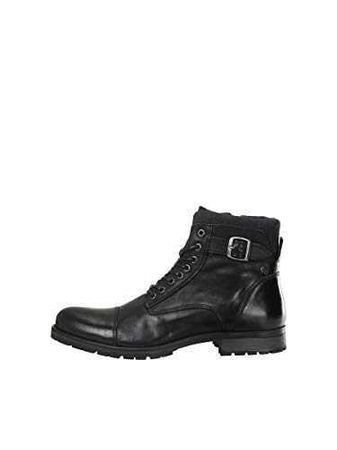 JACK & JONES Male Stiefel Leder 44Anthracite