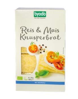 Byodo - Knusperbrot Reis & Mais Bio 160g 1er Pack