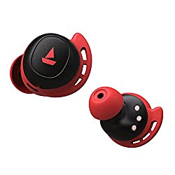 boAt Airdopes 441 TWS Ear-Buds with IWP Technology, Immersive Audio, Up to 18H Total Playback, IPX6 Water Resistance, Super Touch Controls, Secure Sports Fit & Type-C Port(Raging Red),boAt,Airdopes 441