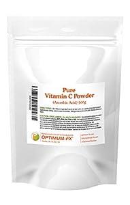 Polvo de Vitamina C Ácido Ascórbico Puro Nada Más