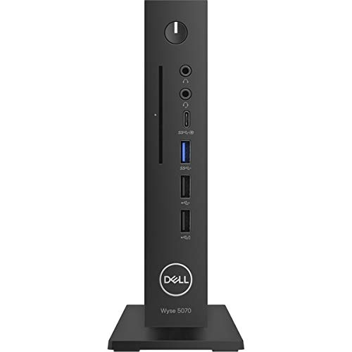 Dell UK BTS Wyse 5070 TC Celeron J4105 4GB 32GB eMMC TPM Verti Stand No Wifi No Kb Mouse WIN10 IoT 3Y Coll&Rtn