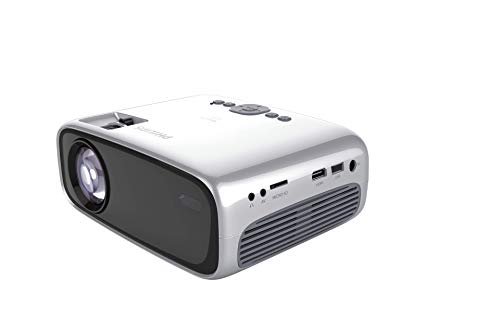 Philips NeoPix Easy+ Mini Video Projector, 80 Inch Display, Wi-Fi Screen Mirroring, Bluetooth, Built-in Media Player, HDMI, USB, microSD, 3.5mm Audio Out Photo #8