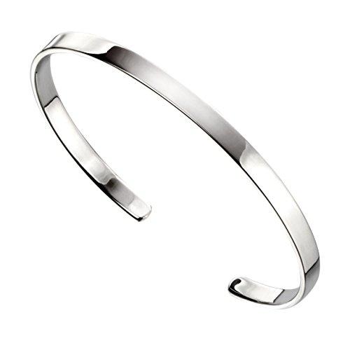 Elements Silver Damen Armreifen Silber - AZ-B5064