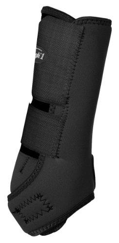 Tough 1 Economy Vented Front Sport Boots, Black, Medium