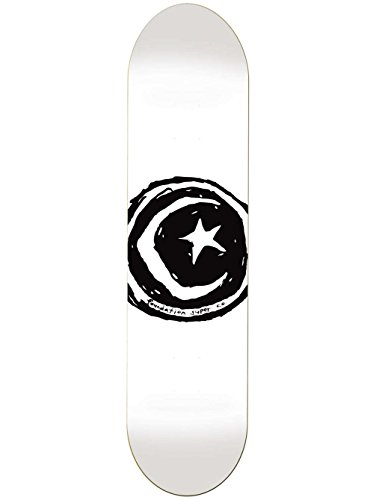 Unbekannt Skateboard Deck Foundation Star & Moon 8.5'' Skateboard Deck