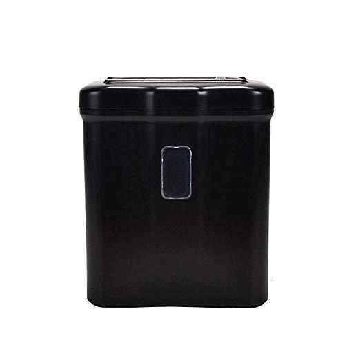 Hochsicherheits-Aktenvernichter Tragbare Hand Shredder, Tabletop-Aktenvernichter, 5 Blatt manuelle Cross Cut Shredder for Zuhause oder das kleine Büro vor 5 Liter Abfallpapierkapazität 320 * 190 * 375
