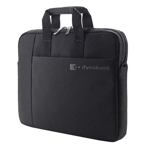 dynabook Large Laptop Bag 16 inch. Padded Laptop Compartment for Optimum Protection. Pocket for Accessories. Comfortable Grip Handle, Shoulder Strap. Sturdy Laptop Case for Business or Personal Use