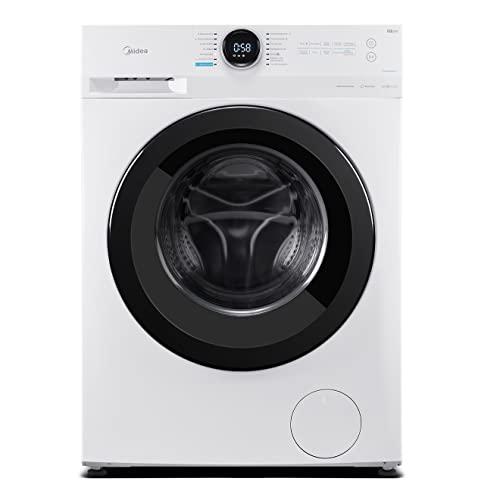Midea MF200W70B-E Waschmaschine / 7KG / 1400 U/min / B / Leiser & effizienter Inverter Motor / HealthGuard-System / Steam Care / Nachlegefunktion / Eco 40-60 / AquaStop Energieklasse B