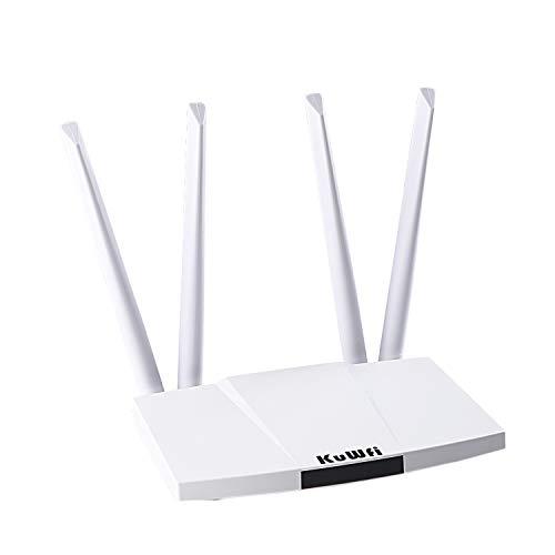 KuWFi 300 Mbps desbloqueado 4G LTE Router CPE con ranura para...