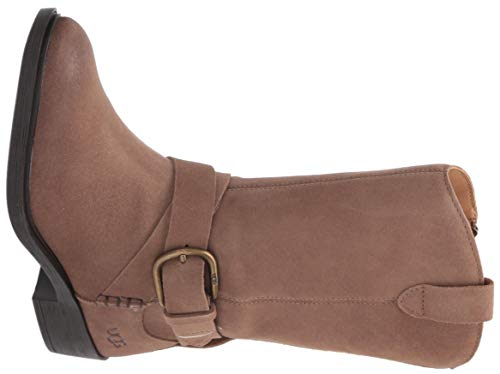 UGG womens Reeza Fashion Boot, Coffee Grounds Suede, 9.5 US