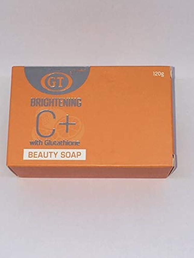 肥料顔料明快GT COSMETICS ビタミンC+グルタチオン配合ソープ 120g